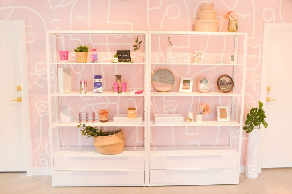 Muse + Maven Salon Shelf